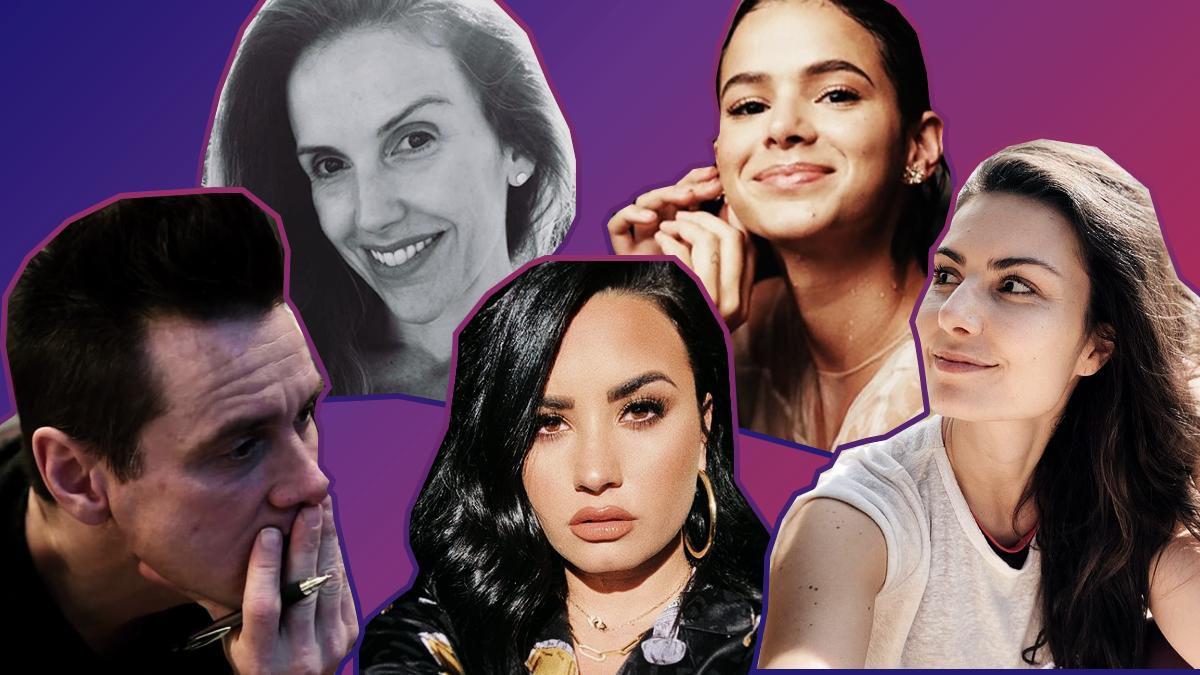 Histórias de superação: Como estes famosos lidaram com a depressão